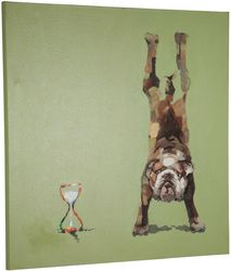 Wanddekoration Doggy - Leinen - Kokoon Design